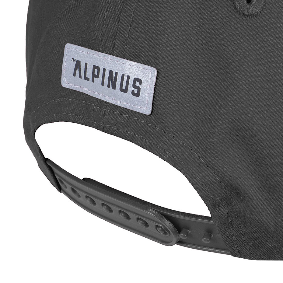 Czapka z daszkiem Alpinus Classic ciemnoszara ALP20BSC0008