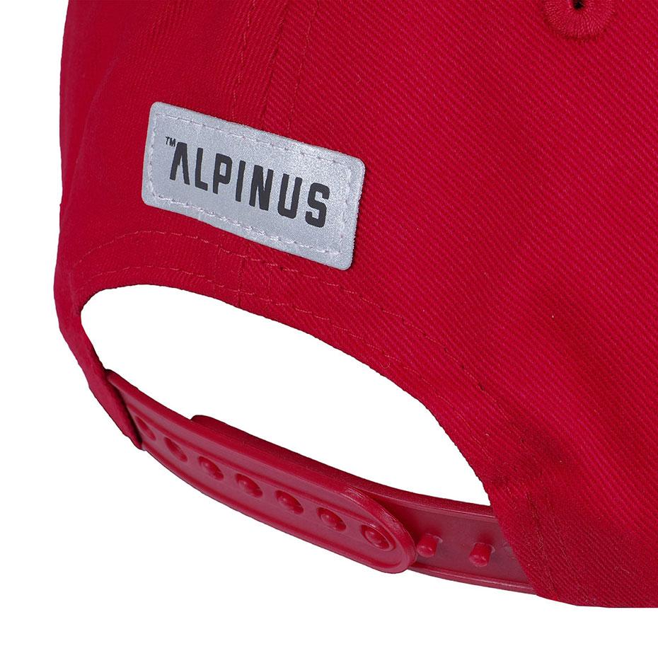Czapka z daszkiem Alpinus Outdoor Eqpt. czerwona ALP20BSC0004