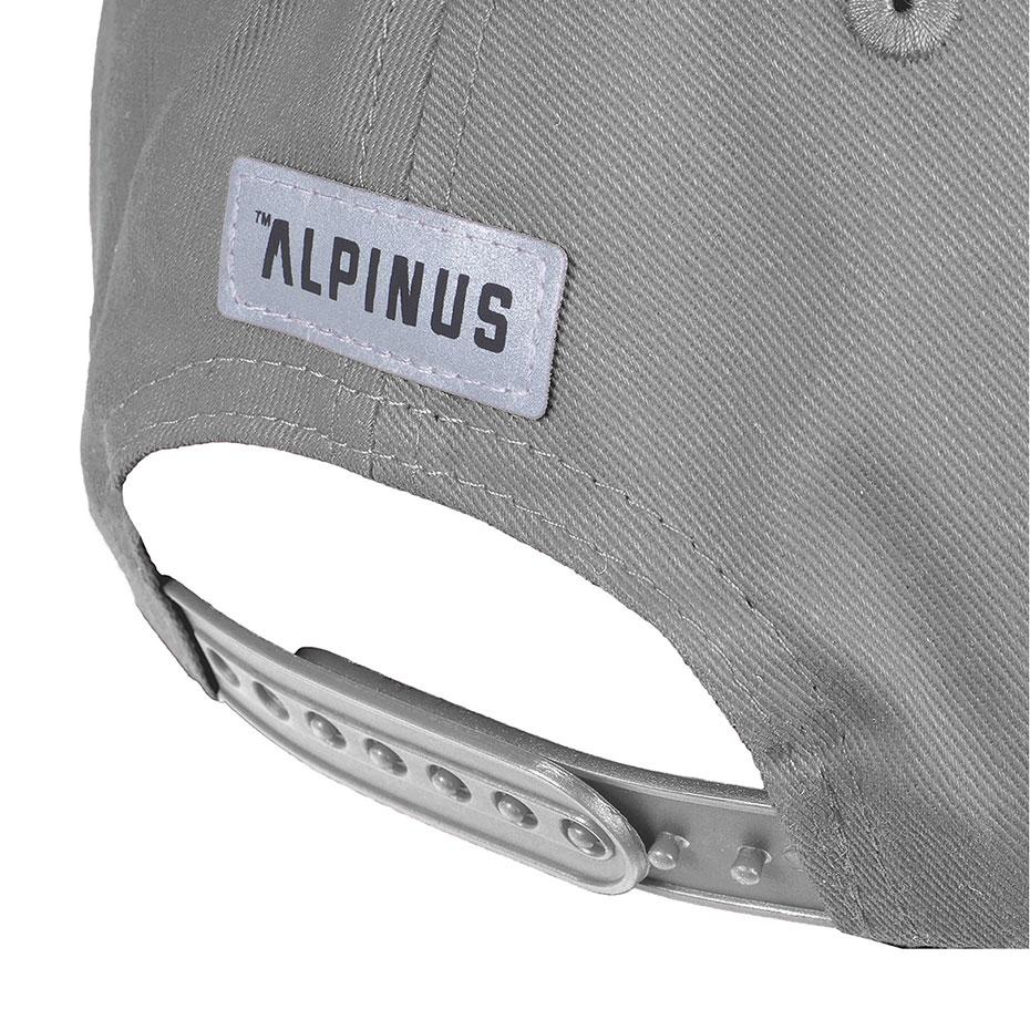 Czapka z daszkiem Alpinus Classic jasnoszara ALP20BSC0008