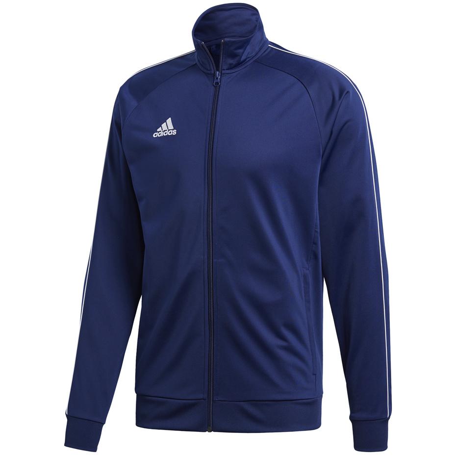 Bluza męska adidas Core 18 Polyester Jacket granatowa CV3563