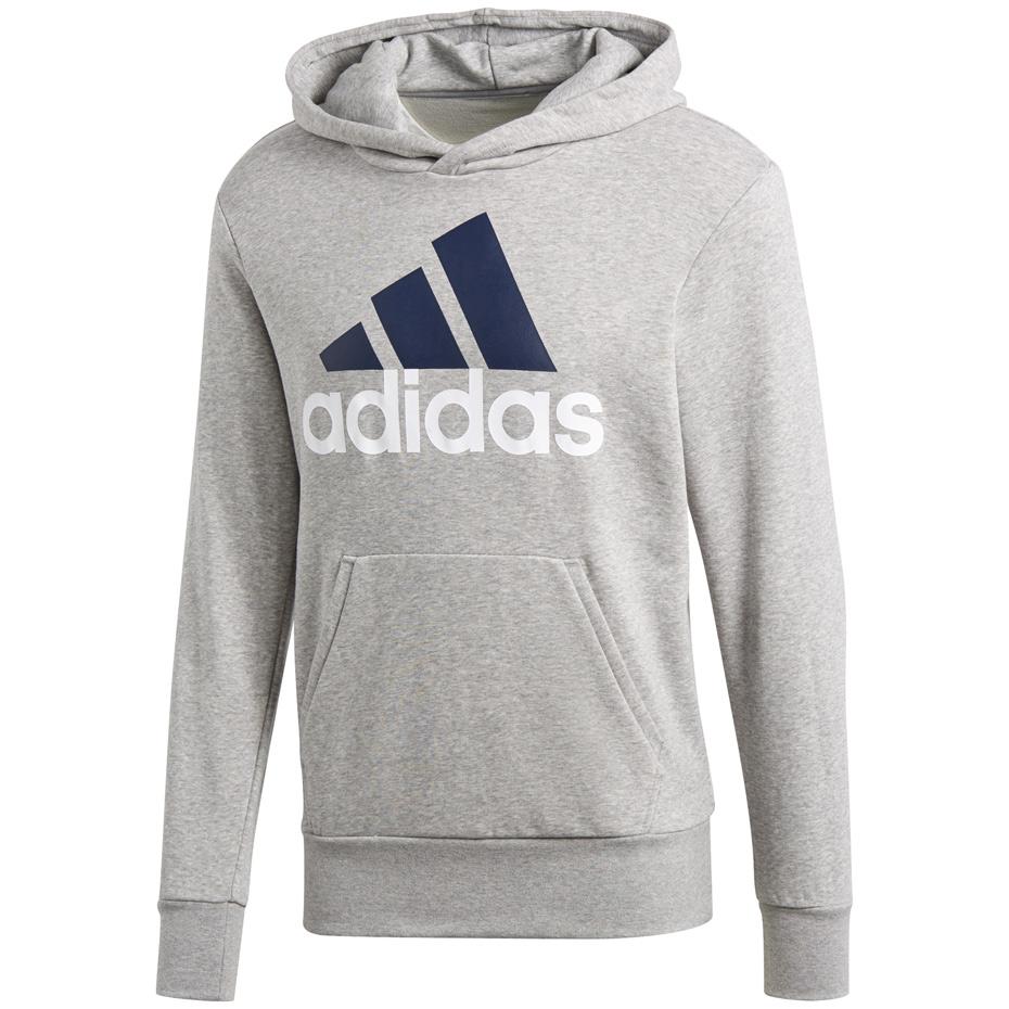 Adidas Big Logo Sweat. Bluza szara rozmiar XXS | Sport