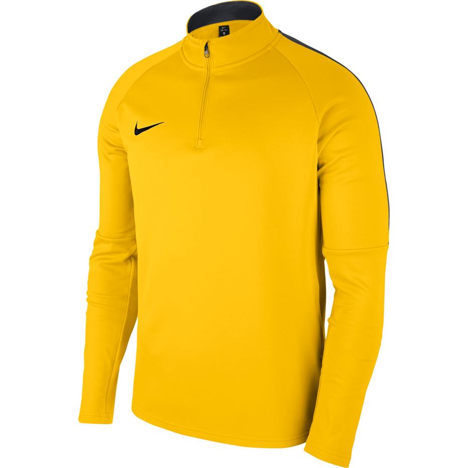 Bluza męska Nike Dry Academy 18 Hoodie PO żółta AH9608 719