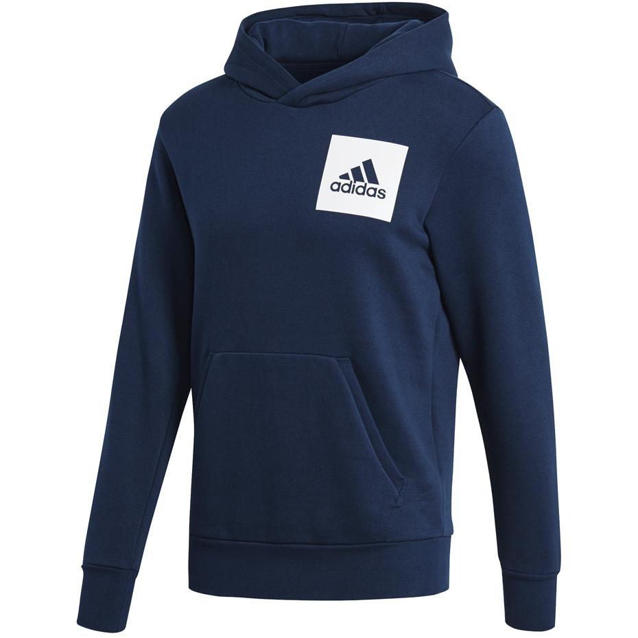 Bluza męska adidas Essentials Logo PO B granatowa S98771