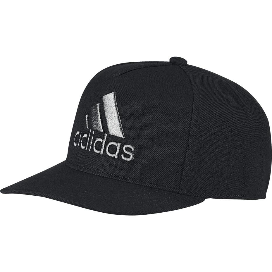 Czapka z daszkiem męska adidas H90 Logo Cap OSFM czarna