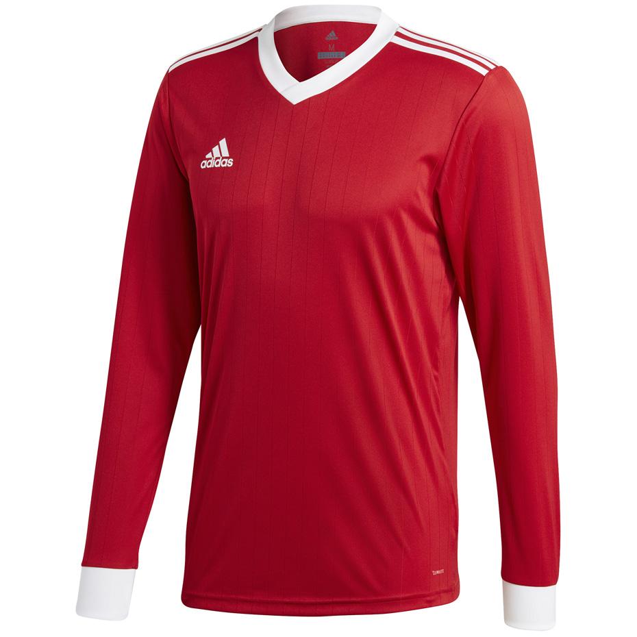 Koszulka męska adidas Tabela 18 Jersey LS czerwona CZ5456