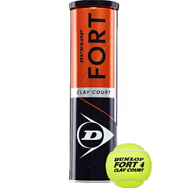 pilki-do-tenisa-ziemnego-dunlop-fort-clay-court-4s