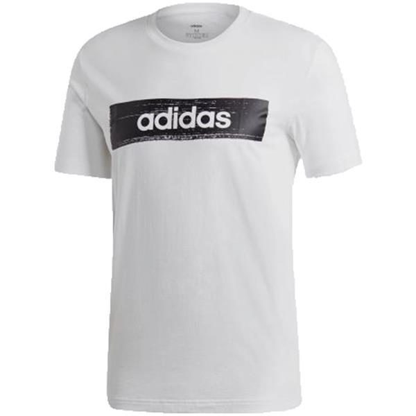 Koszulka męska adidas M Box Graphic Tee 2 biało czarna