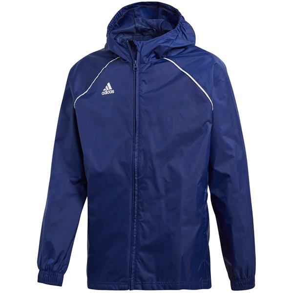 Kurtka Ortalionowa adidas Core Rain Jacket JUNIOR czerwona S22285