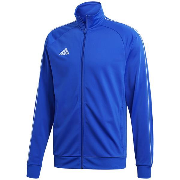 0654e90f9 Bluza męska adidas Core 18 Polyester niebieska CV3564 - Cena, Opinie –  Sklep Sportbazar.pl