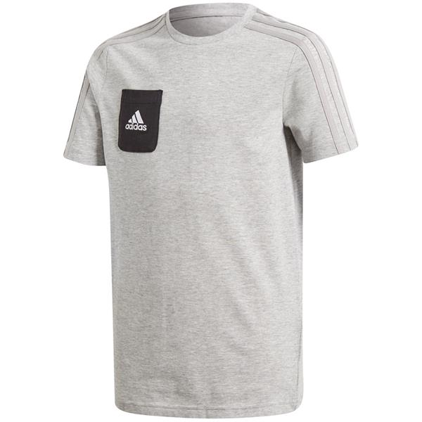 cc9e0496f Koszulka dla dzieci adidas Tiro 17 Tee JUNIOR szara AY2965 - Cena, Opinie –  Sklep Sportbazar.pl