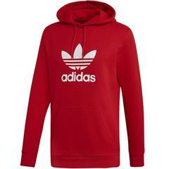 Bluza męska adidas Trefoil Hoodie czerwona FM3783 Cena